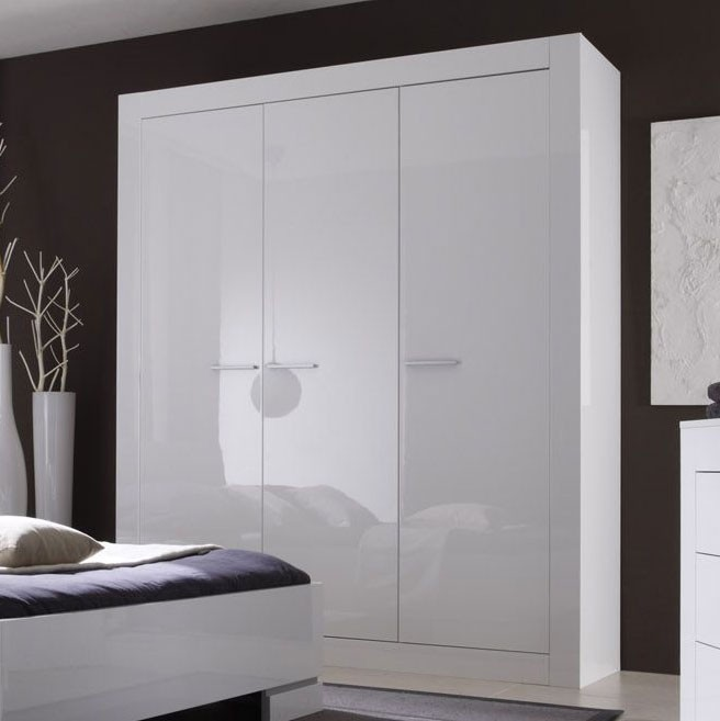 armoire laque blanc design bellissima zd1 arm a d. Black Bedroom Furniture Sets. Home Design Ideas