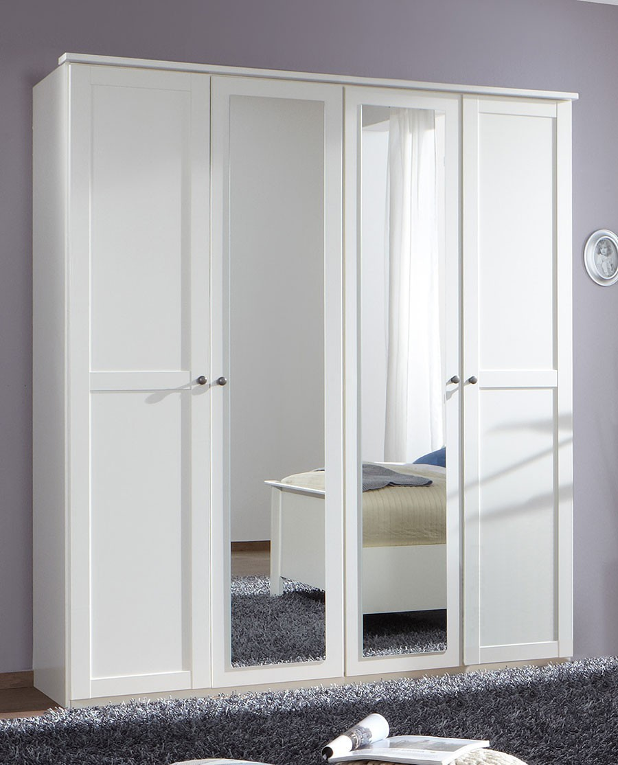 armoire bois blanc. Black Bedroom Furniture Sets. Home Design Ideas