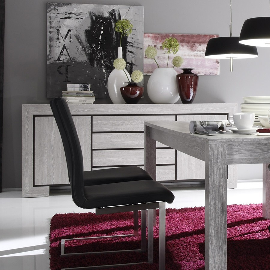 Idee deco chambre ado fille theme new york for Meuble salle a manger bas