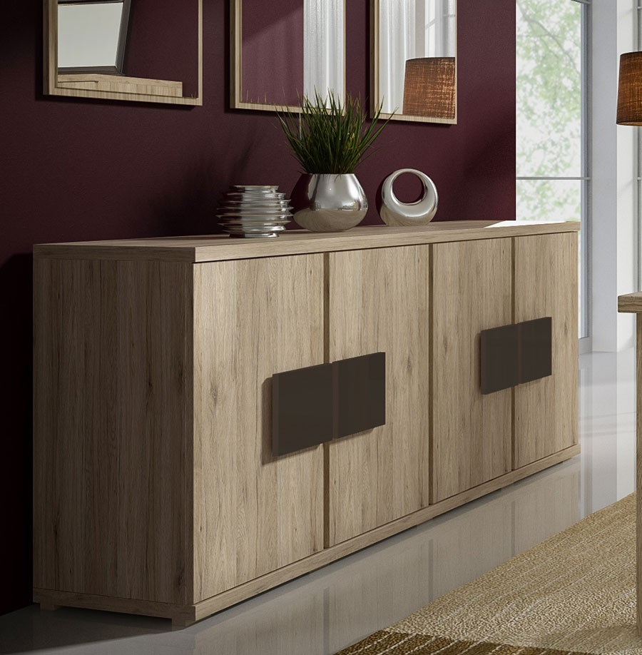 Chambre Wenge Et Taupe