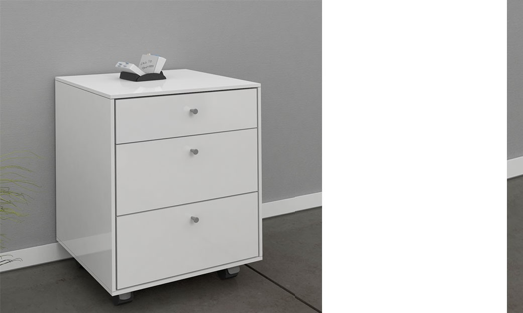 bureau design blanc laqu amovible max great mobilier de bureau royale deco dans bureau blanc. Black Bedroom Furniture Sets. Home Design Ideas