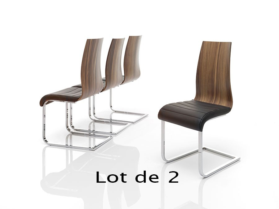 Chaise contemporaine doha zd1 c c b for Chaise salle a manger contemporaine