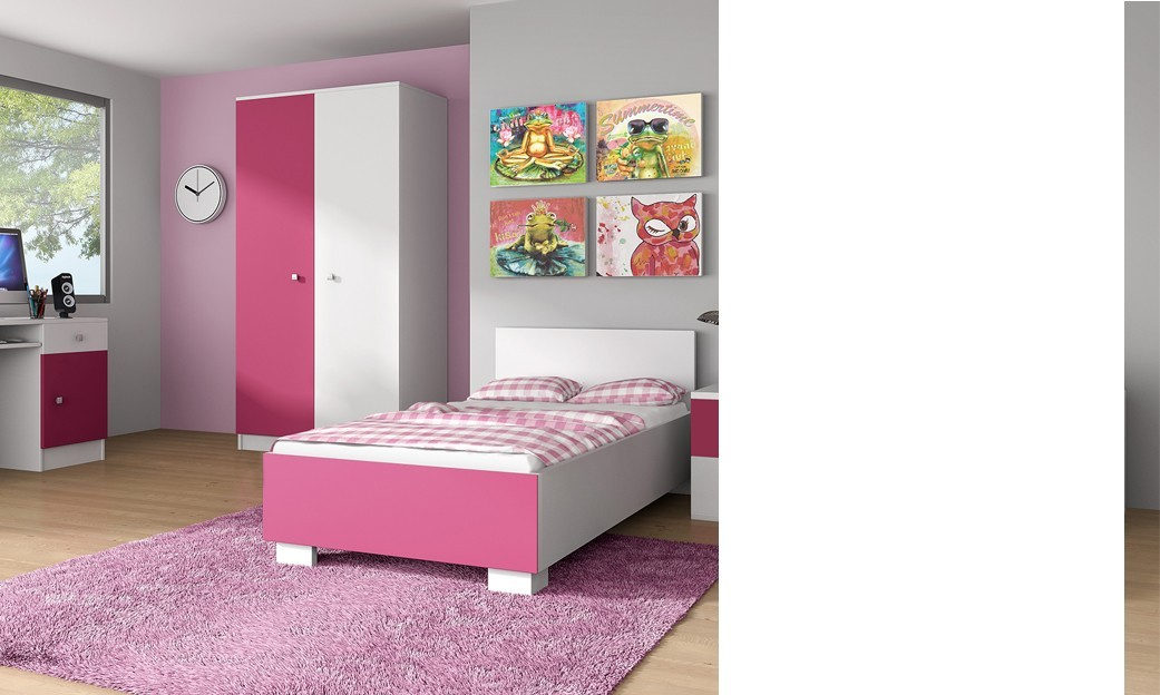 Chambre complete fille but for Chambre avec lit superpose