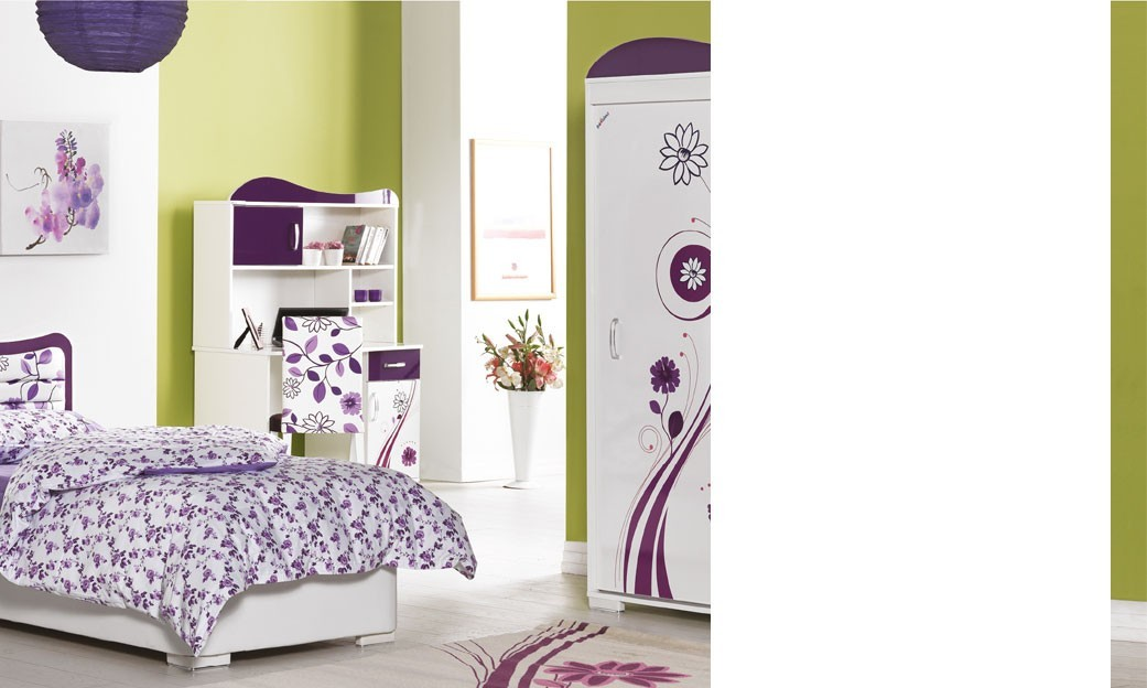 chambre complete fille bois blanc. Black Bedroom Furniture Sets. Home Design Ideas