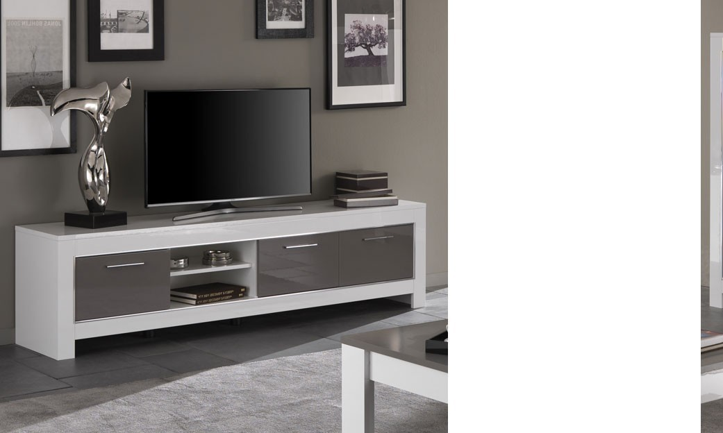 meuble tv laque gris design: meuble de salon gt tv mural ensemble ... - Grand Meuble Tv Design