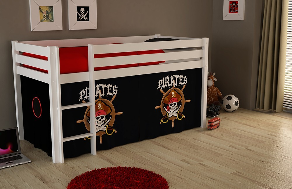 habillage lit sureleve pirate ludik zd1 hous lsur e. Black Bedroom Furniture Sets. Home Design Ideas