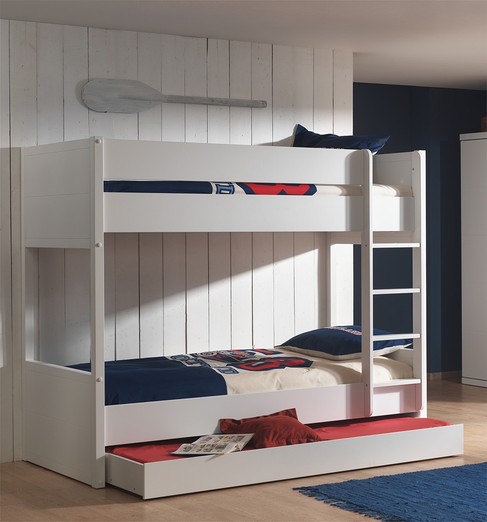 Ikea Chambre Complete Adulte : Lits superposes blanc lylou zd ls b g