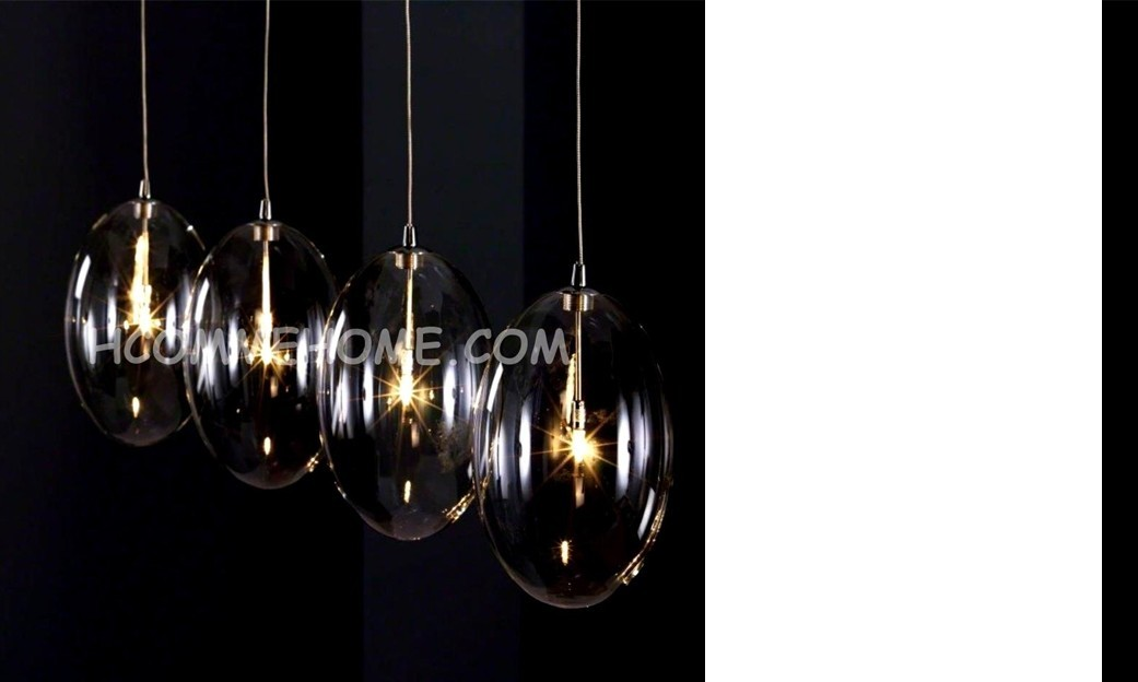 Luminaire suspension design en verre KALO