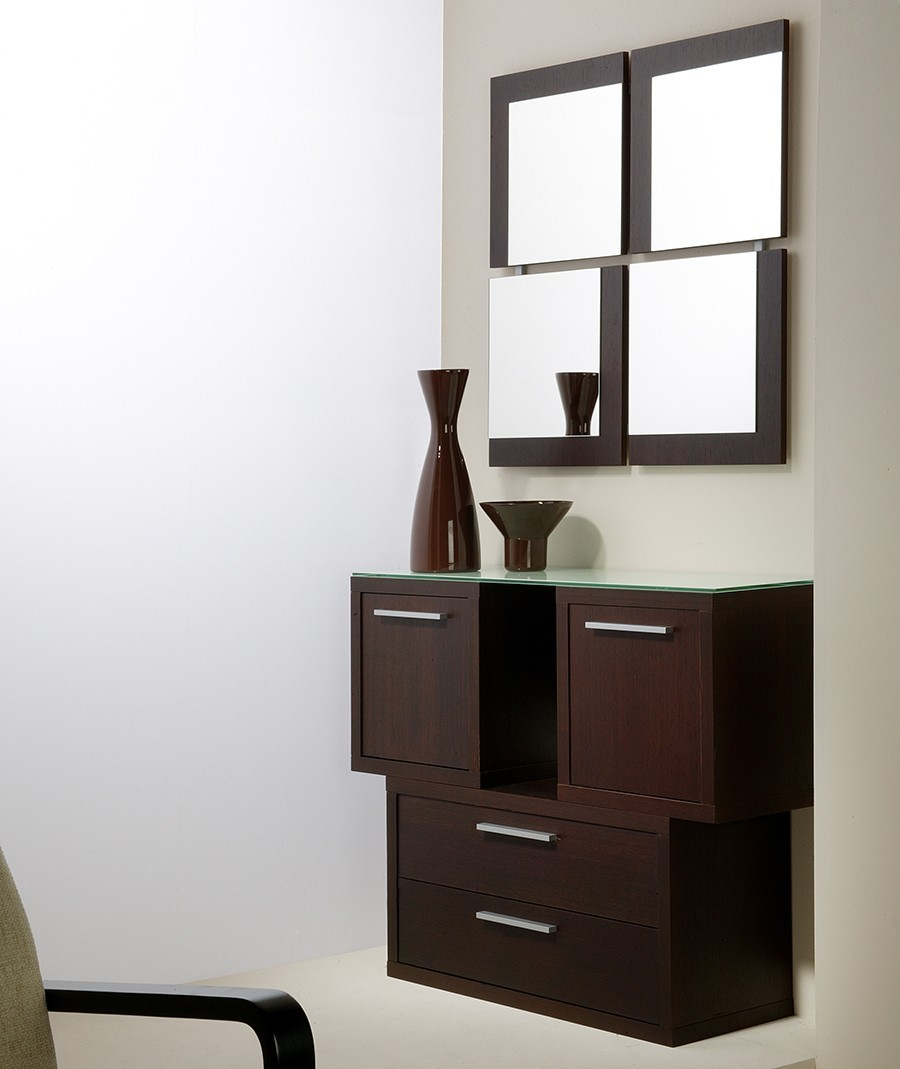 meuble d entree contemporain renoir zd1 meu dentr. Black Bedroom Furniture Sets. Home Design Ideas