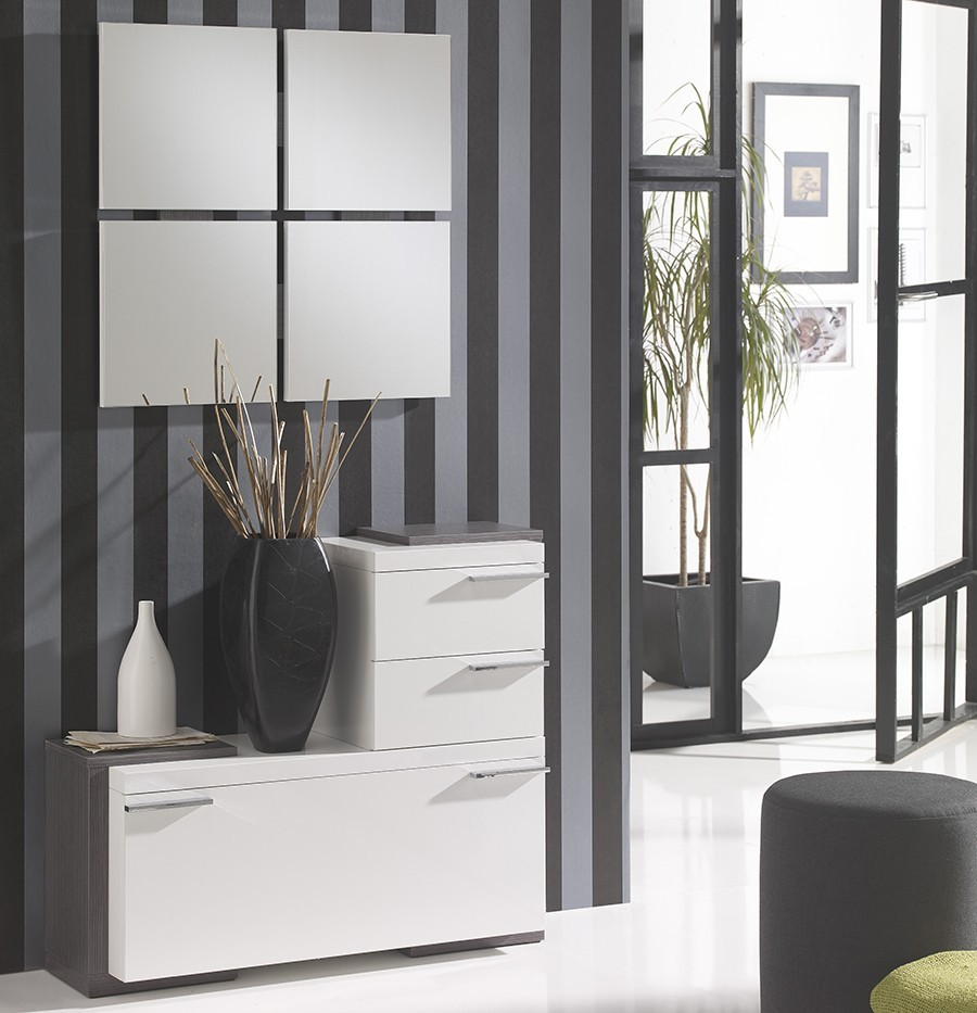 meuble d entree moderne ingrid zd1 meu dentr. Black Bedroom Furniture Sets. Home Design Ideas