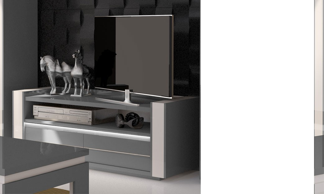 meuble tv laque gris fly solutions pour la d coration int rieure de votre maison. Black Bedroom Furniture Sets. Home Design Ideas