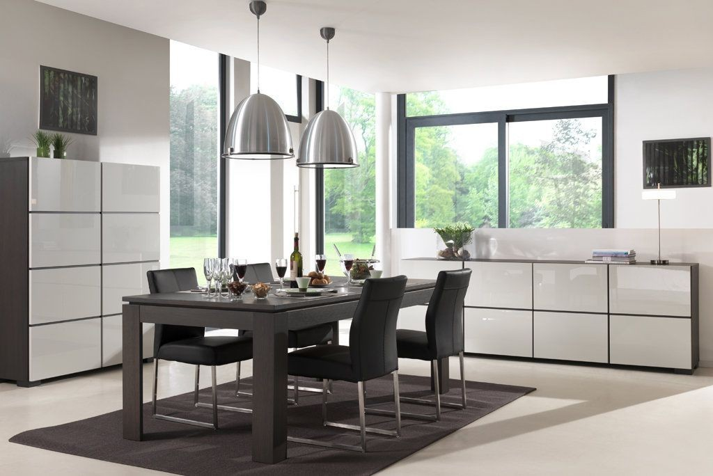salle a manger blanc laque belgique solutions pour la. Black Bedroom Furniture Sets. Home Design Ideas