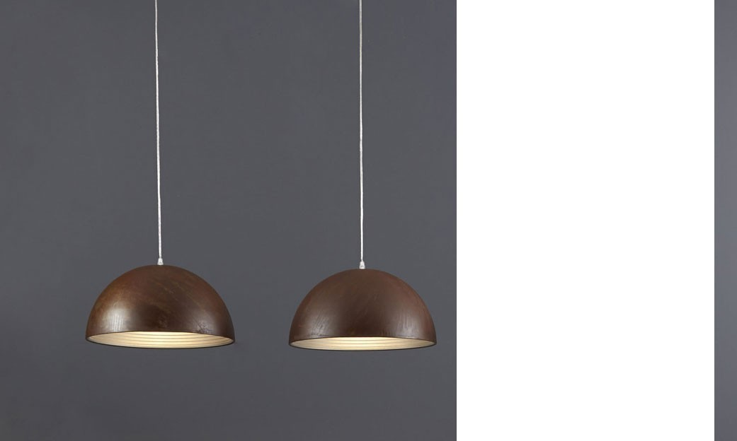 Suspension industrielle 3 lampes TORI