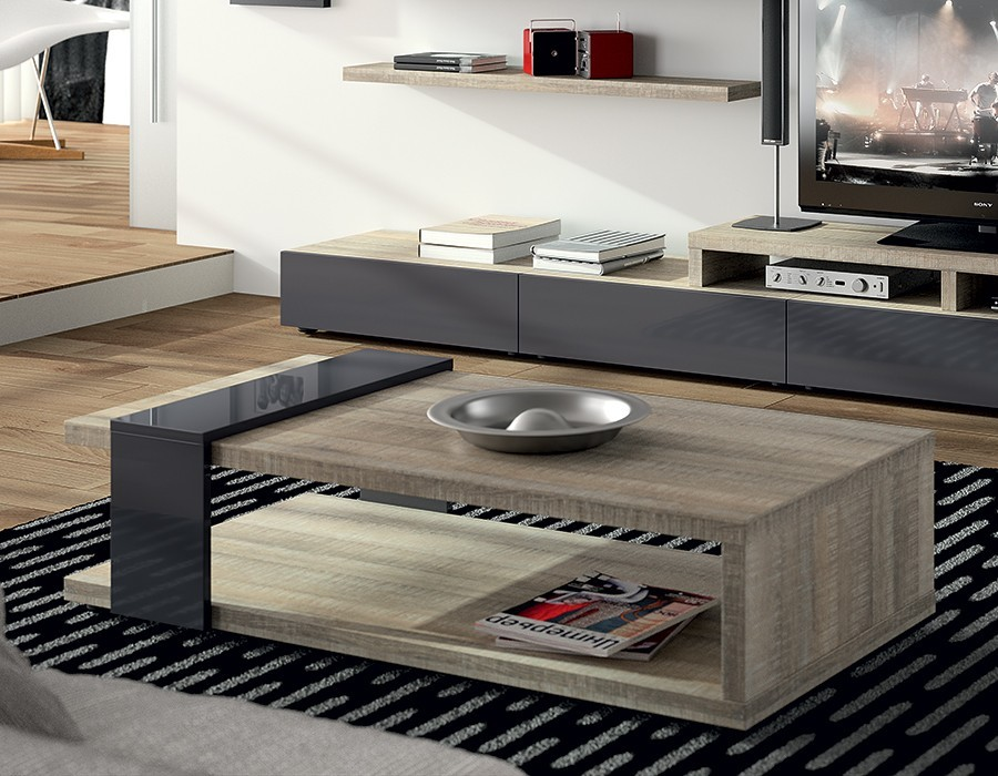 Table basse contemporaine texas zd1 tbas c - Table de salon transformable ...