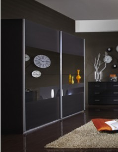 armoire de chambre adulte contemporaine au meilleur prix. Black Bedroom Furniture Sets. Home Design Ideas