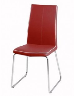 Chaise design ELISE Rouge