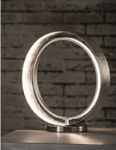 Lampe à poser LED design en métal CIRCLE