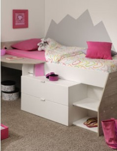 page 2 lit mezzanine lit combin et lit sur lev pour enfant. Black Bedroom Furniture Sets. Home Design Ideas