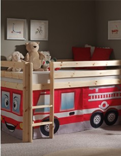 lit mezzanine lit combin et lit sur lev pour enfant. Black Bedroom Furniture Sets. Home Design Ideas