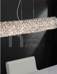 Luminaire suspension design en verre RONDA