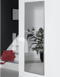Grand Miroir Mural Rectangulaire Design En Inox Bross Alias 3