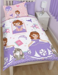Parure de lit enfant SOFIA THE FIRST ACADEMY