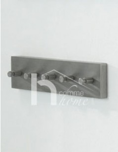 Patère design en inox 5 branches YOUNG