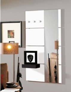 porte manteau mural et pat re pour une entr e design. Black Bedroom Furniture Sets. Home Design Ideas
