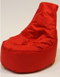 Pouf chaise en nylon FUN, coloris Rouge