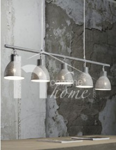 Suspension design grise SIGI, 2 coloris au choix