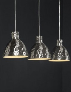 Luminaire suspension design en nickel mat 2001