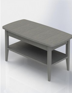 Table basse contemporaine LUXEMBOURG