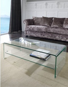 Table basse en verre design SARTI