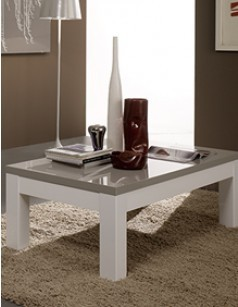 Table basse design ou contemporaine vous de choisir Table basse laquee grise