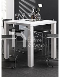 Table Haute Laqu E Blanche Design Arko