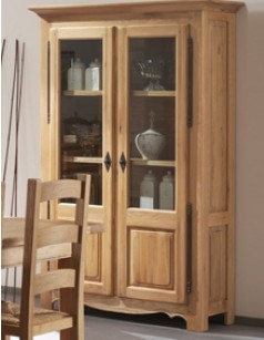 argentier et vaisselier en bois meubles en ch ne massif. Black Bedroom Furniture Sets. Home Design Ideas