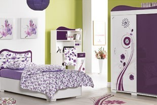 Awesome Chambre Complete Fille Blanche Gallery - Matkin.info ...
