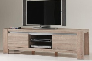 Meuble TV contemporain CYRIANE, 1 porte