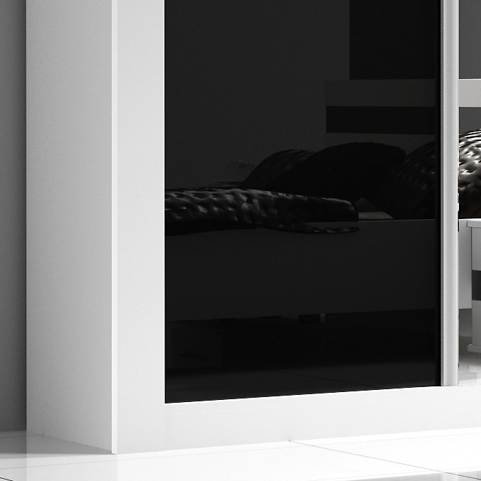 armoire blanche conforama best armoire designe conforama. Black Bedroom Furniture Sets. Home Design Ideas