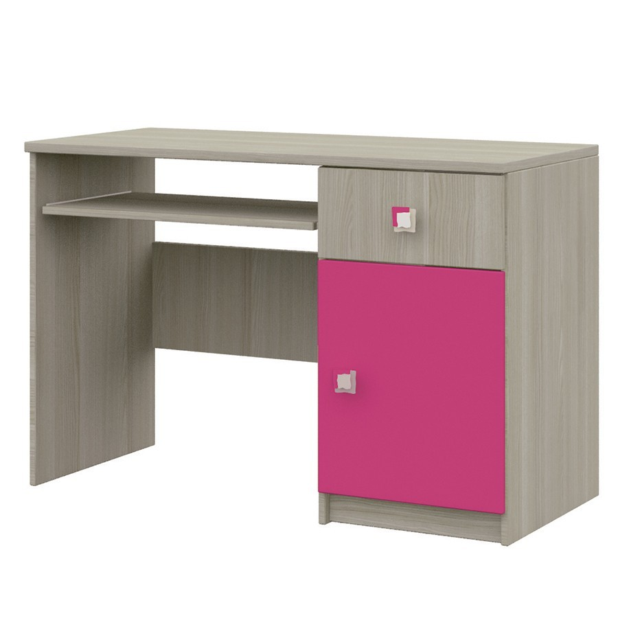 bureau chambre fille chambre enfant chaise rose bureau. Black Bedroom Furniture Sets. Home Design Ideas