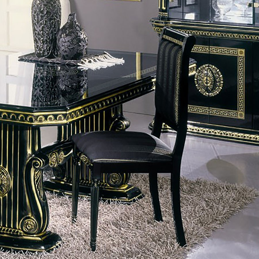 chaise salle a manger noire cool chaise noire salle a. Black Bedroom Furniture Sets. Home Design Ideas