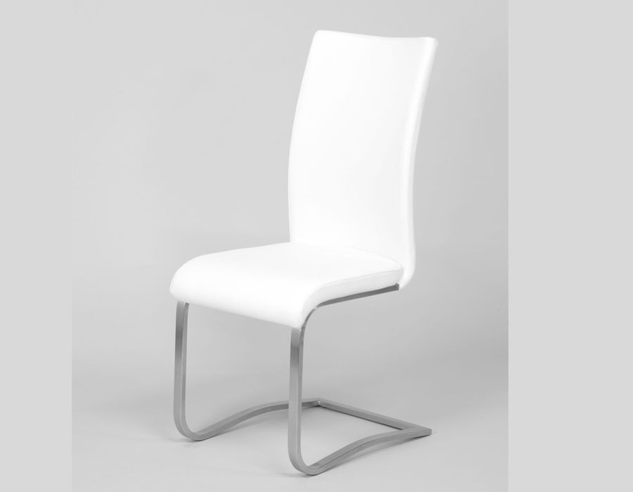 Chaise blanche design
