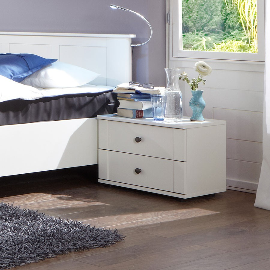 chambre adulte bois blanc pr l vement d 39 chantillons et une bonne id e de. Black Bedroom Furniture Sets. Home Design Ideas