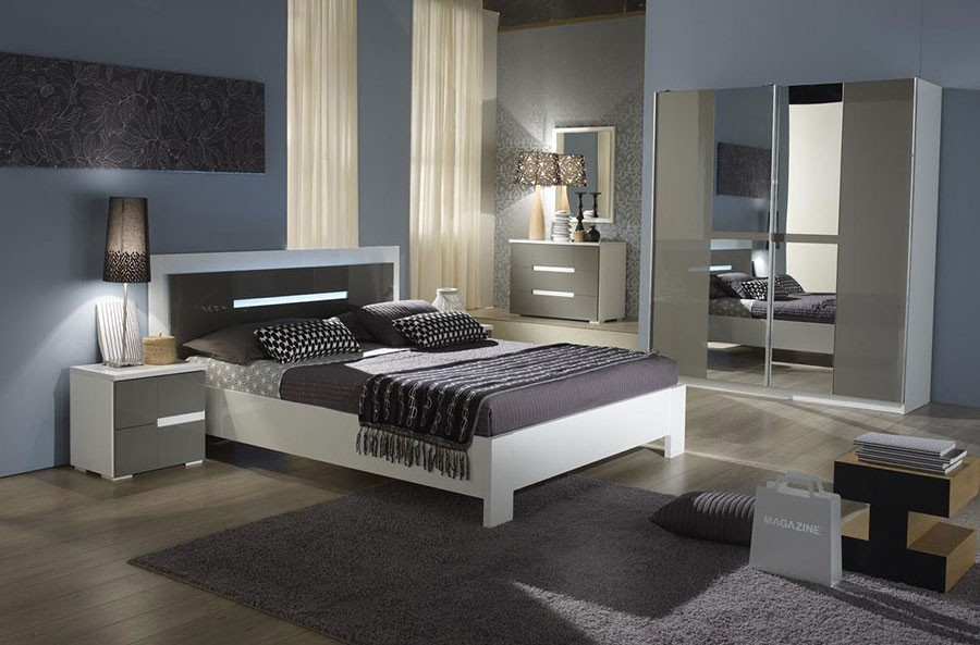 Pin Chambre Design Grise on Pinterest