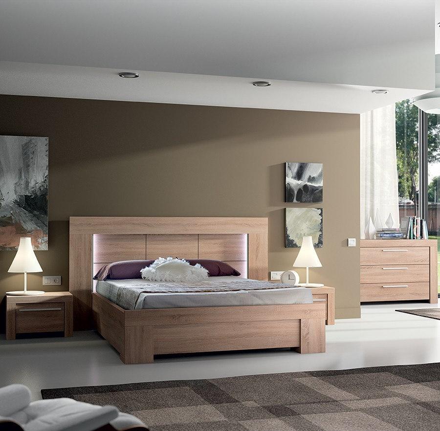 Awesome Chambre Complete En Bois Massif Ideas - Matkin.info ...