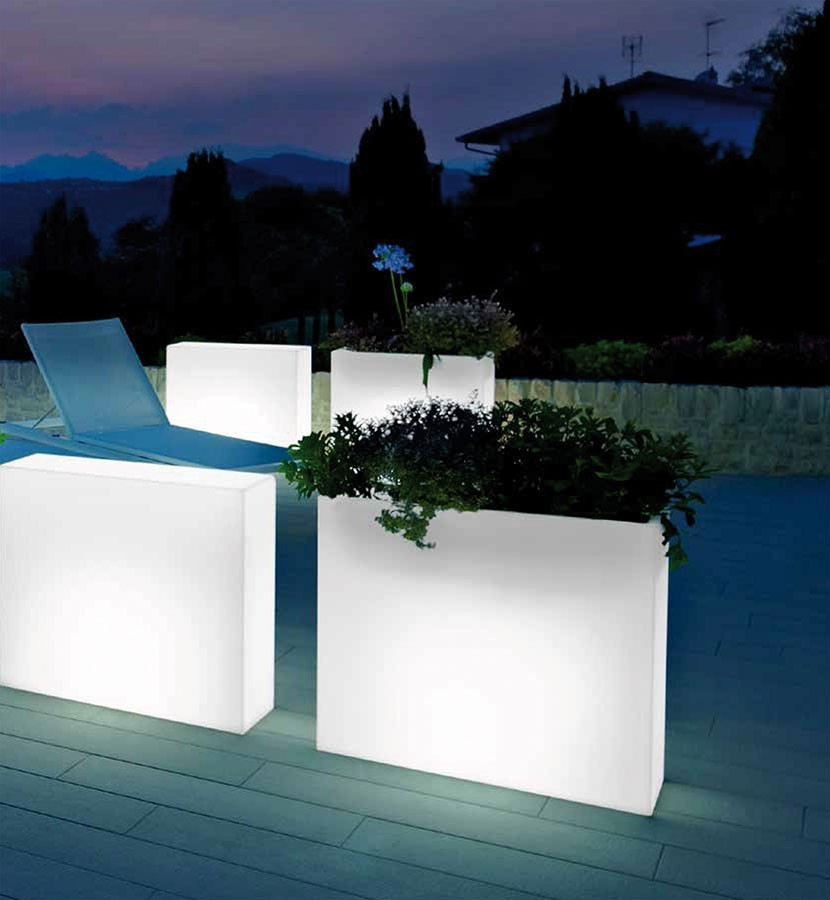 ase rectangulaire lumineux