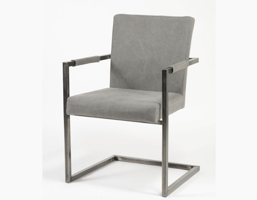 Fauteuil anthracite design