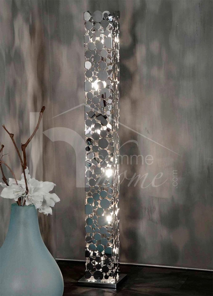 Eclairage led decoration originale accueil design et for Lampadaire interieur design