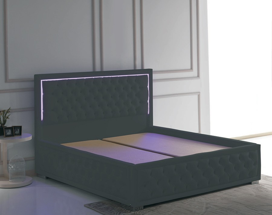 tete de lit lumineuse led. Black Bedroom Furniture Sets. Home Design Ideas