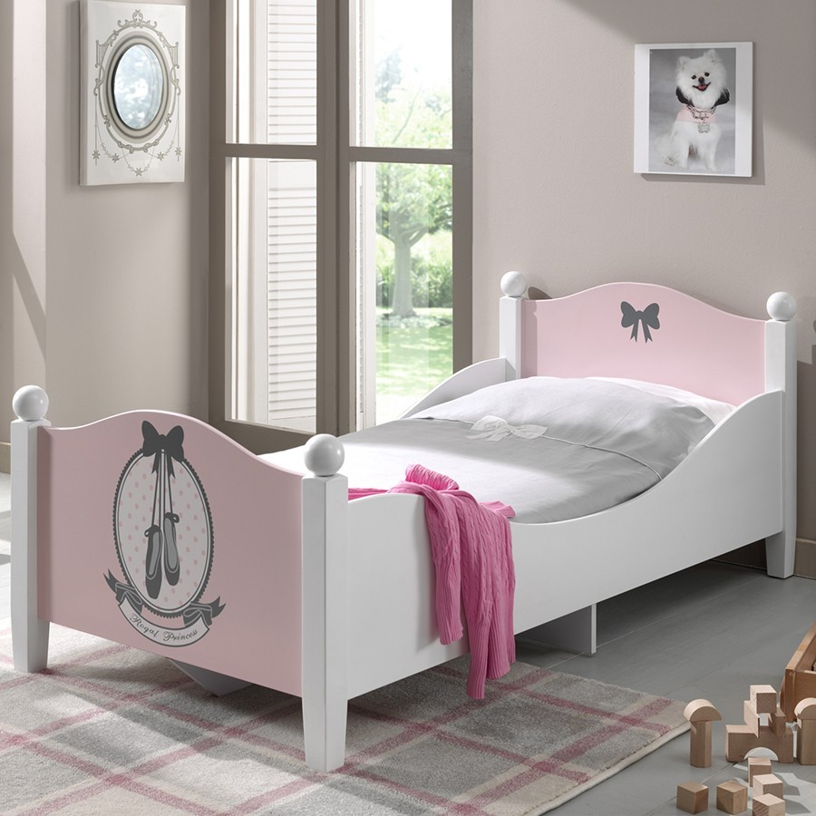 lit fille junior. Black Bedroom Furniture Sets. Home Design Ideas